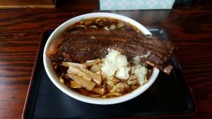 骨付きチャーシュー麺