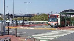 袖ヶ浦BT路線バス乗り場