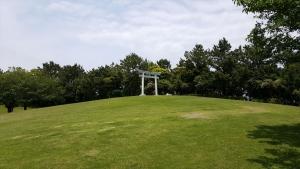 潮浜公園_鳥居