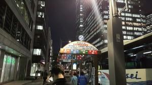 東京駅乗り場の屋根