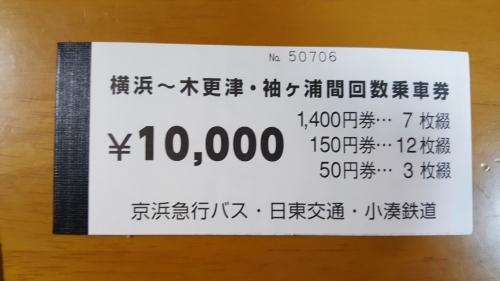 横浜回数券