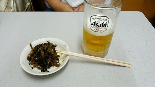 高菜とビール