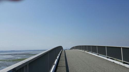 中の島大橋最上部