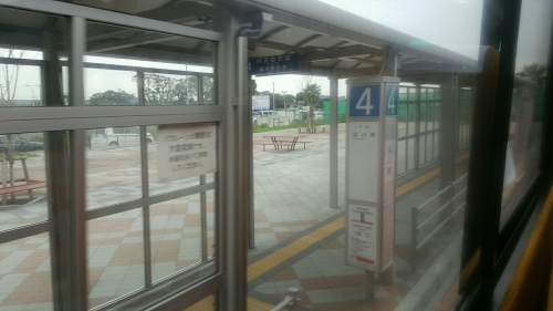 金田BT品川行き乗り場