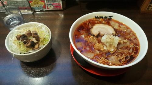 拉麺帝王_タンタンメンとネギ丼