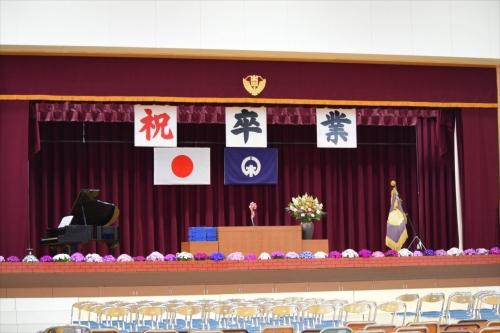 卒業式_ステージ