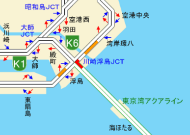渋滞地図20170422