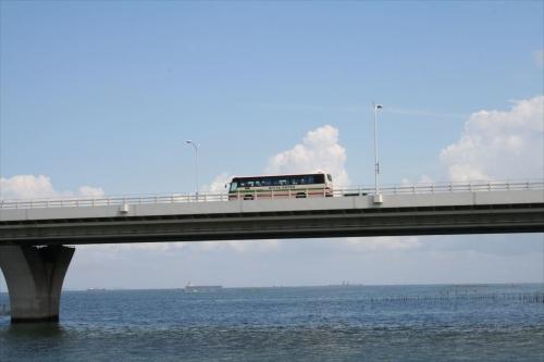 アクアラインと日東バス