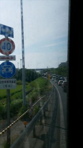 アクアライン渋滞20170717_5