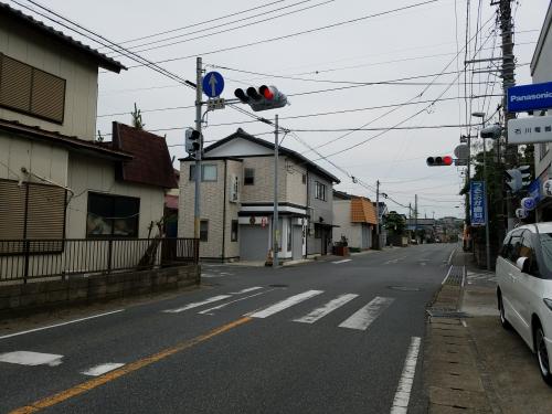 桜井の中心交差点