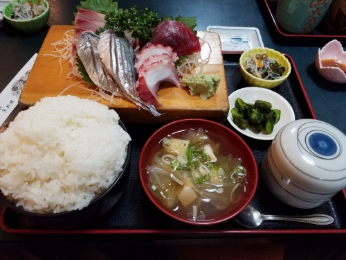 魚まさ_刺身定食