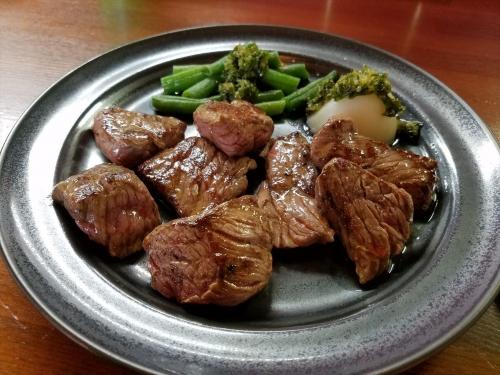 イチローステーキ_料理