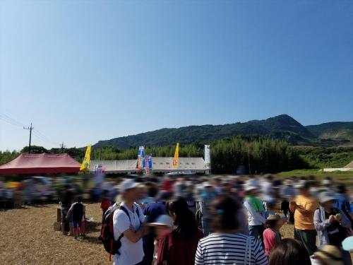 枝豆収穫祭2017_行列