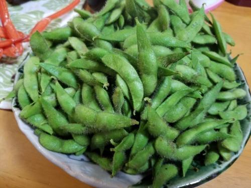 枝豆収穫祭2017_ゆでた枝豆