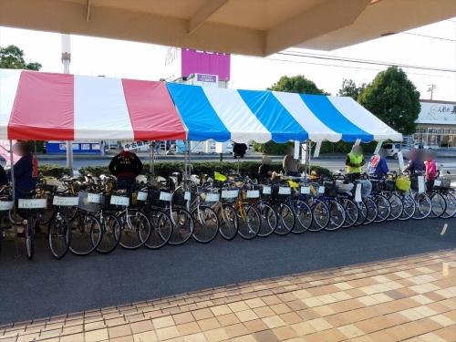 農畜産物収穫祭2017_自転車販売