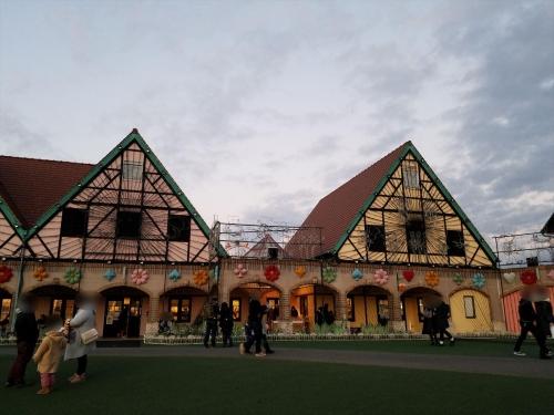 ドイツ村イルミ_点灯前