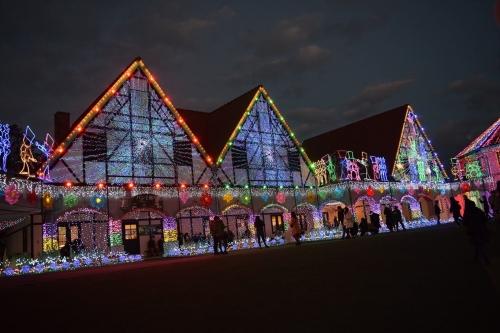 ドイツ村イルミ_点灯