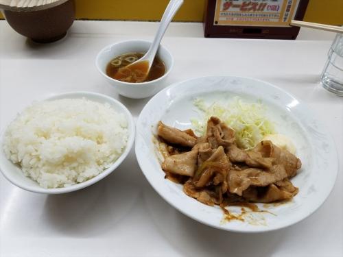 活力亭_生姜焼き定食