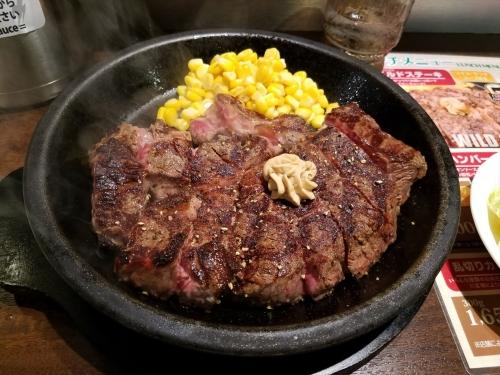 いきなりステーキ富津_450gステーキ