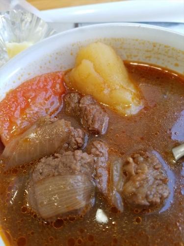 なかぱんカフェ_ビーフシチューの肉
