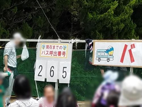 白子たまねぎ祭り2018_バス乗り場案内