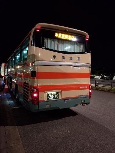 小湊バス_袖ケ浦ナンバーの車両