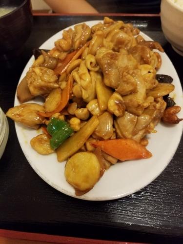 スタミナ食堂_鶏とカシューナッツ炒め