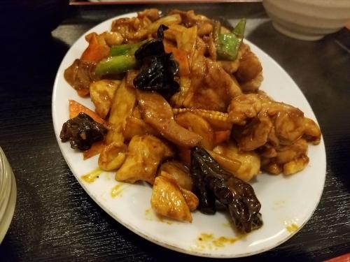 スタミナ食堂_鶏の肉みそ炒め