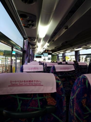 東急高速バス_車内