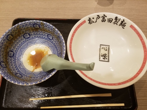 富田製麺_完食
