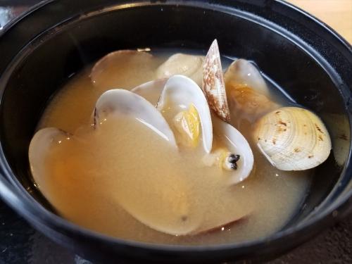 舫い船_味噌汁