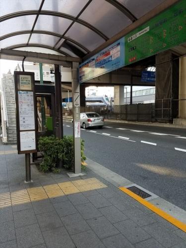 スカイ号_上野駅停留所