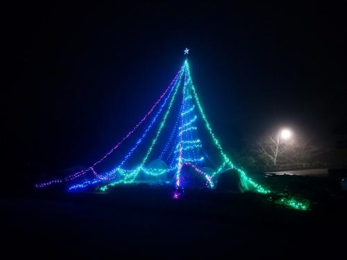 袖ケ浦公園_イルミ2