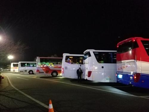 ドイツ村イルミ201812_観光バス